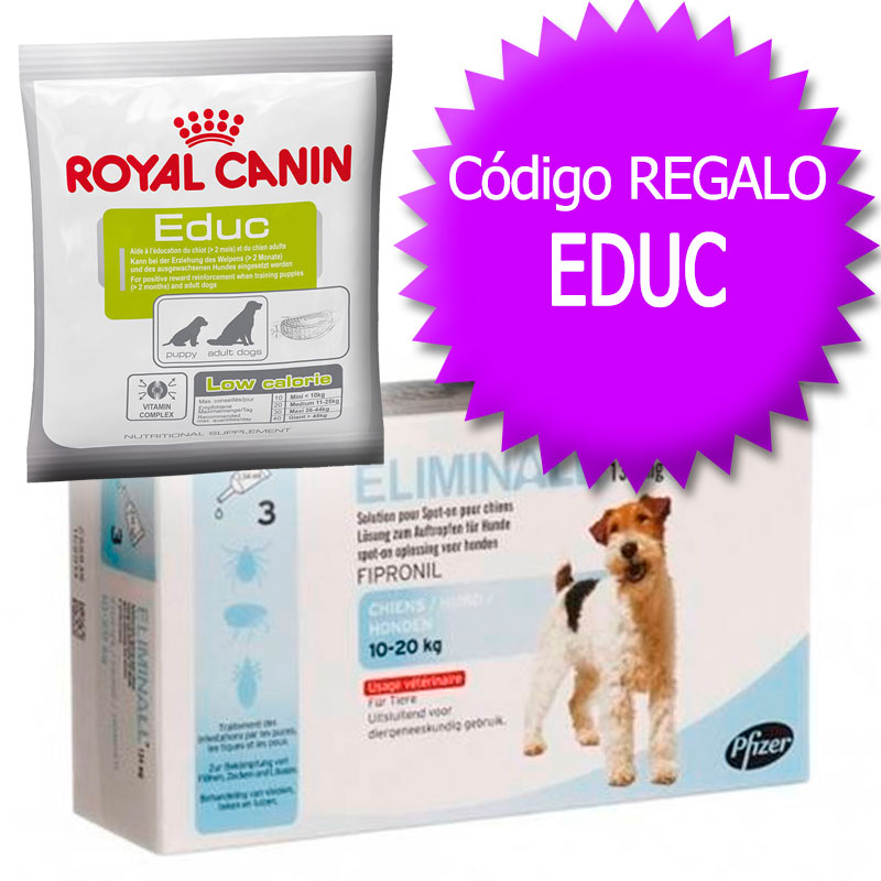 External Antiparasitic Eliminall for Dogs 10-20Kg+Coupon