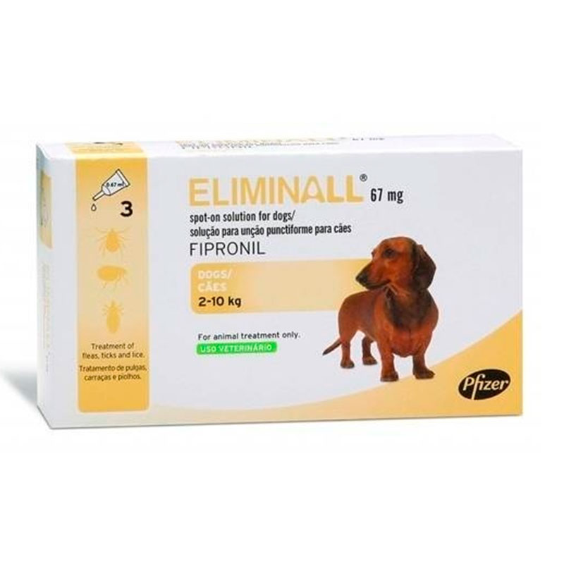 Eliminall Zoetis Pipettes for Dogs 2-10Kg