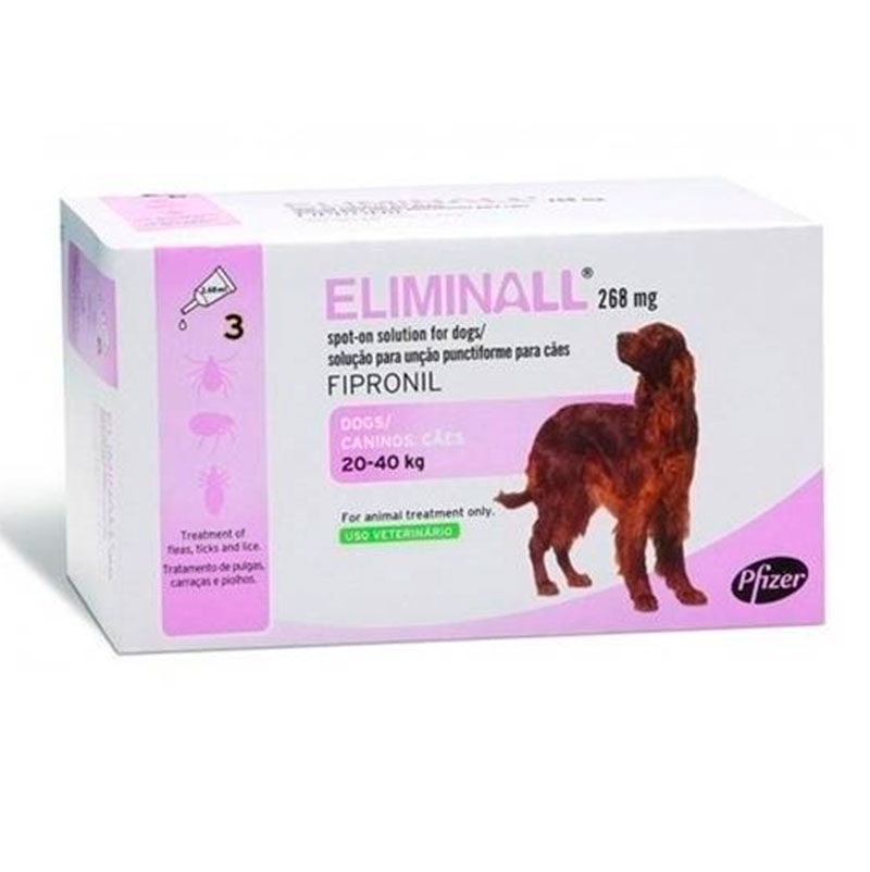 Eliminall Zoetis Pipettes for Dogs 20-40Kg