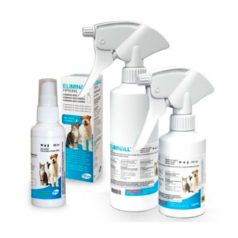 Eliminall Zoetis Spray antiparasitic for dogs and cats