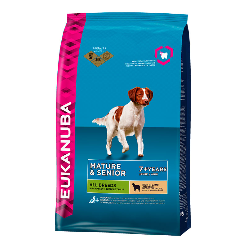 Eukanuba Mature & Senior (Cordero y Arroz)