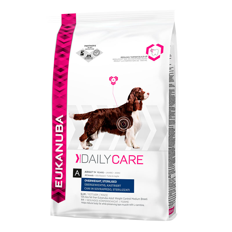 Eukanuba Daily Care Overweight, Sterilized 12.5Kg