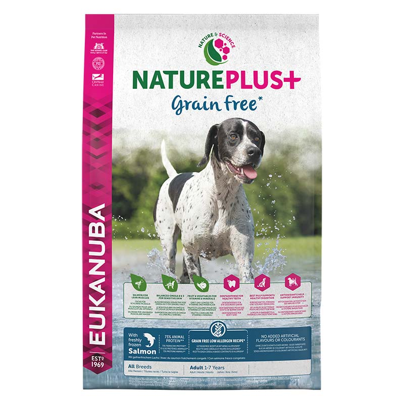 Eukanuba NaturePlus Grain Free Salmon