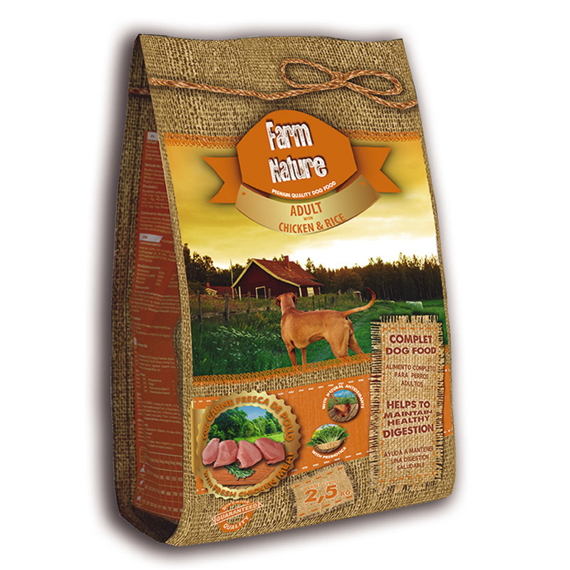 Farm Nature Dog Food Adult with Chicken & Rice