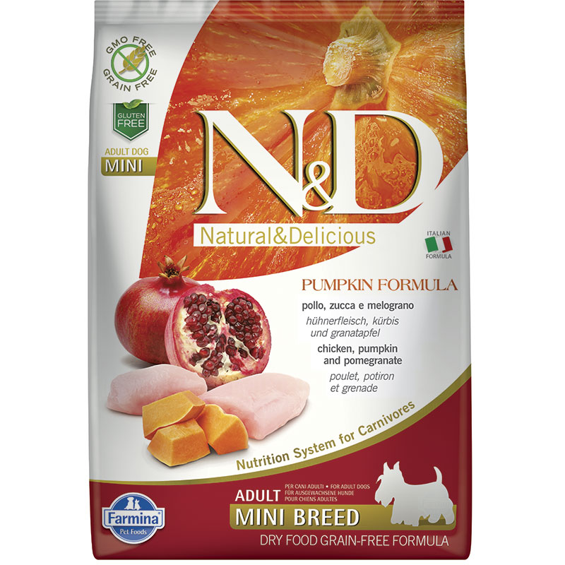 Farmina N&D Grain Free Pumpkin Mini Chicken