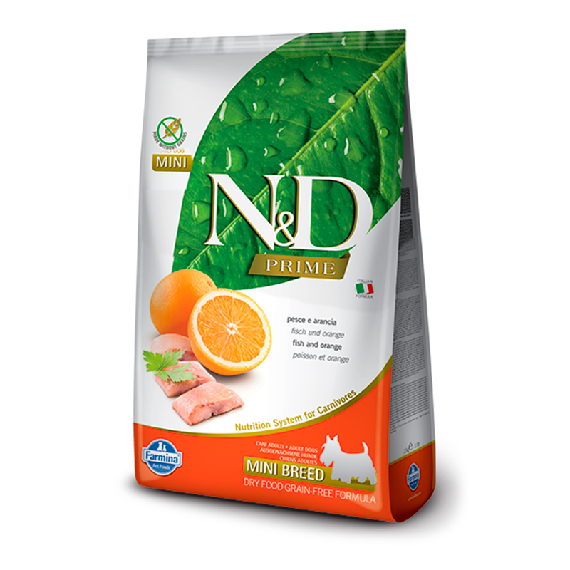 Farmina N&D Grain Free Adult Mini Pescado y Naranja