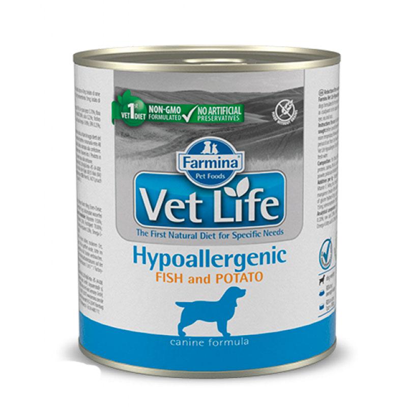 Farmina Vet Life Dog Hypoallergenic Fish Can