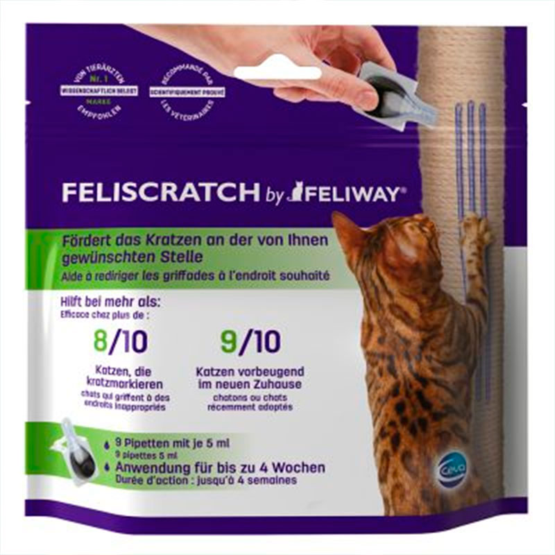 Feliway Feliscratch Behavior and Scratch Corrector