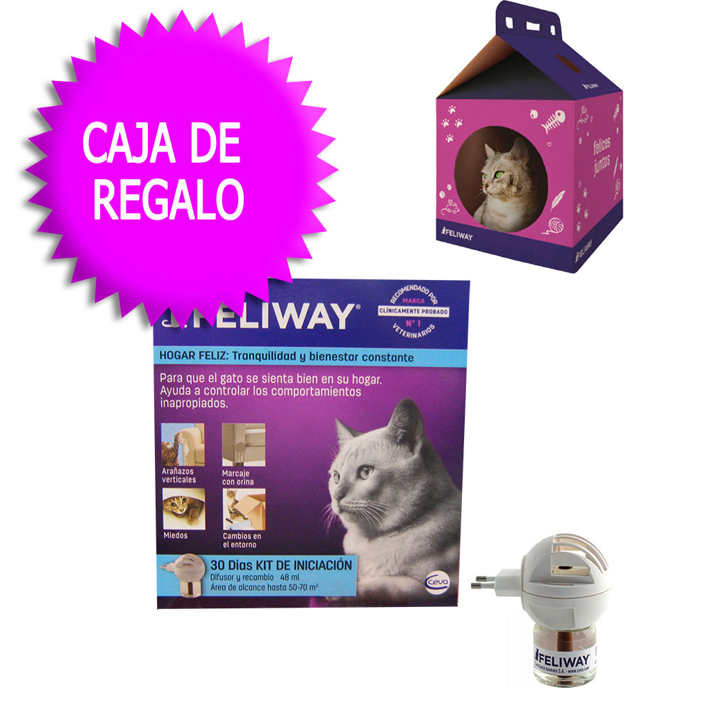 Anti Stress Feliway .Diffuser + Replacement 48ml