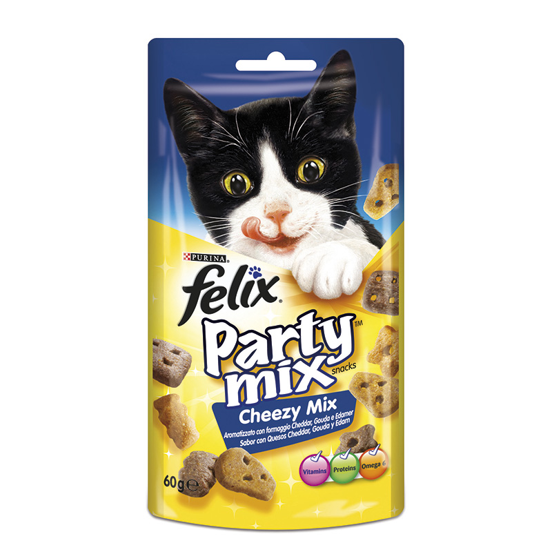 Felix Snacks Party Mix Cheezy Mix 60gr