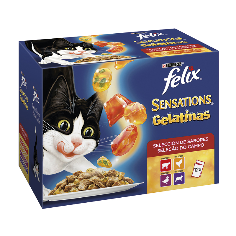 Felix Selección de Carnes en Gelatina 12x100gr