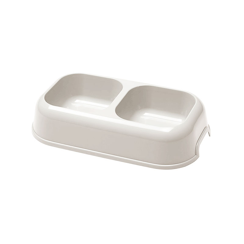 Ferplast Plastic Feeder Party Double White