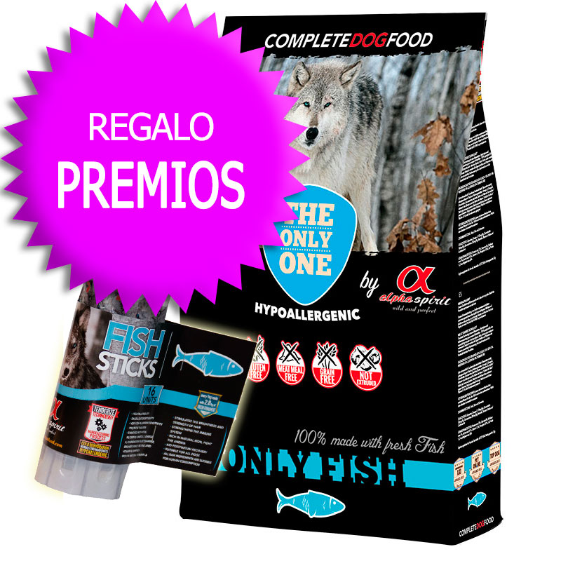 "Alpha Spirit ""The Only One"" Only Fish 12Kg+Cupón"
