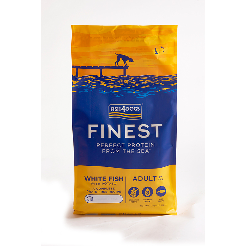 Finest Fish4Dogs Adult Ocean White Fish