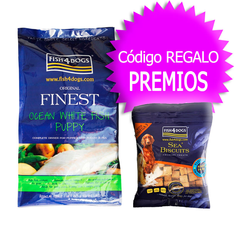 Finest Fish4Puppies Complete 12Kg+Coupon