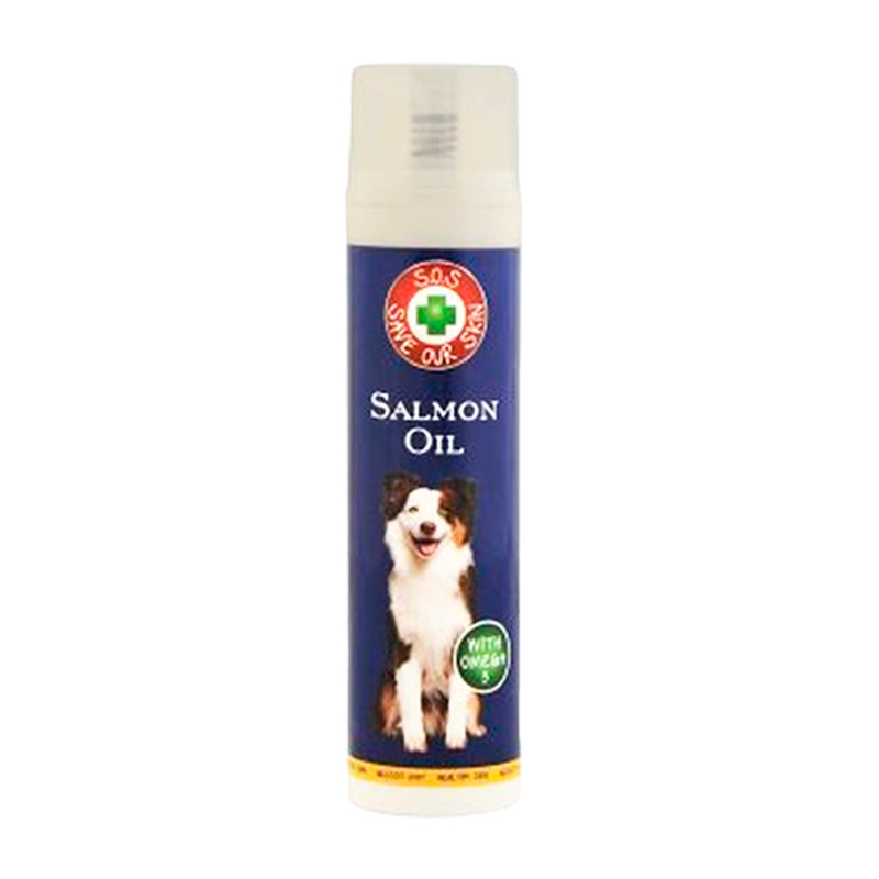 Fish 4 Dogs & Cats Salmon Oil with dispenser 150ml