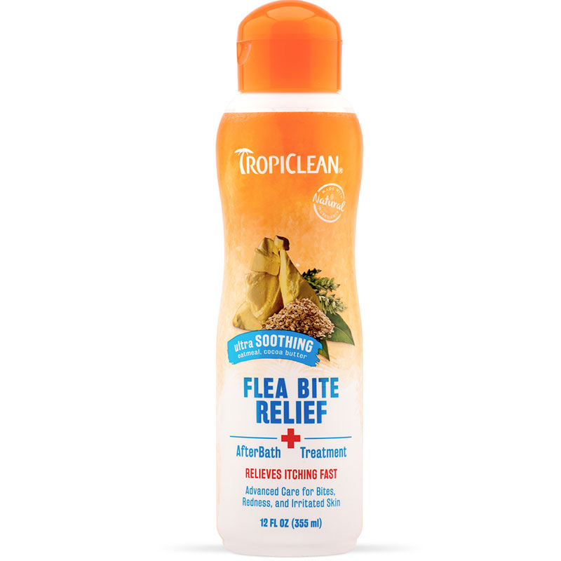 Tropiclean flea bite relief afterbath treat