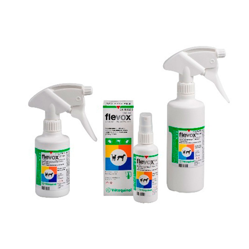 External Antiparasitic Flevox Spray