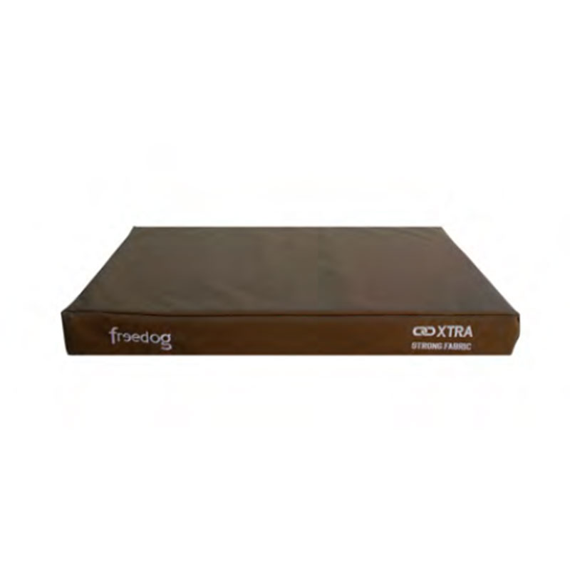 Freedog Xtra Strong Fabric Mattress Brown