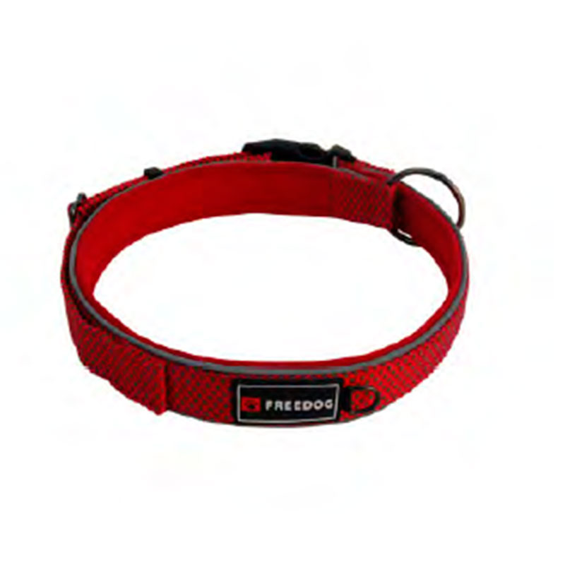 Collar extreme rojo perro collares correas arneses nylon for Nylon para estanques
