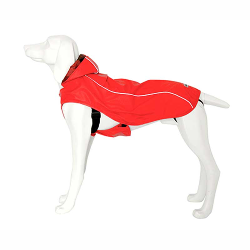 Freedog Impermeable Artic Rojo