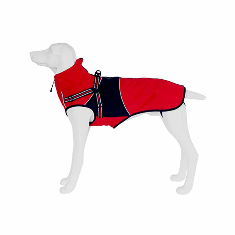 Freedog Impermeable Cairo Rojo