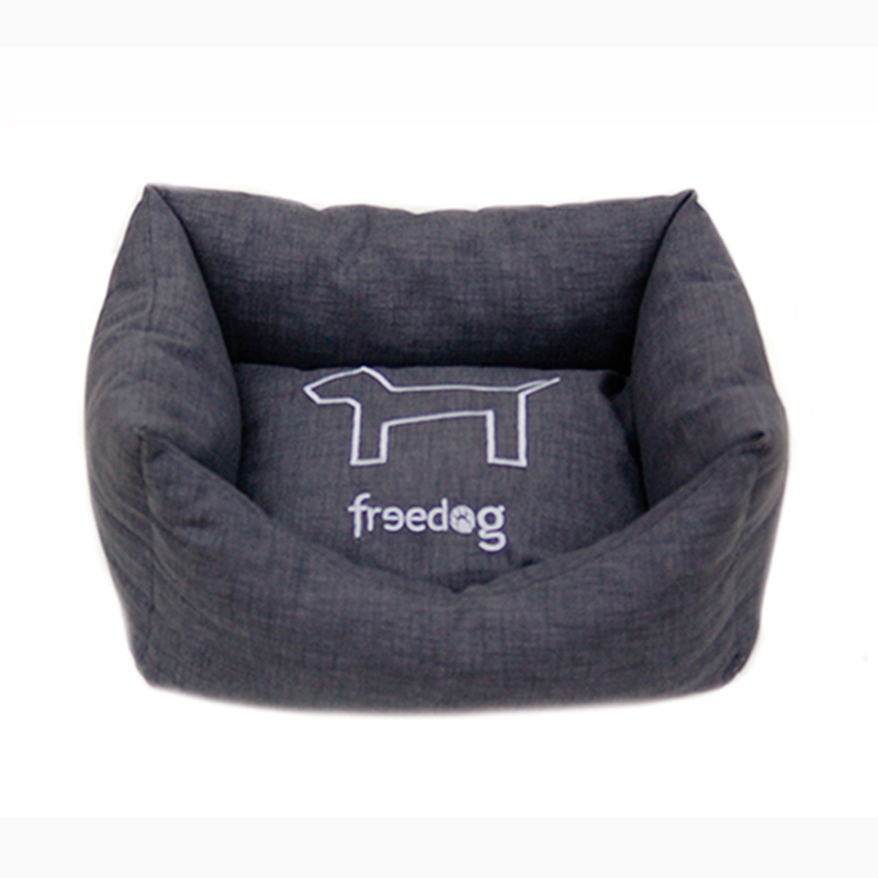 Freedog Padded Pet Bed HQtex Colors Black