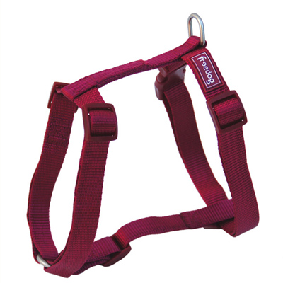 Freedog Harness Nylon Basic Garnet