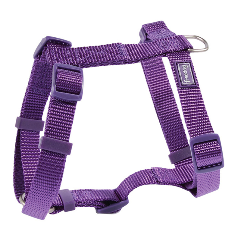 Freedog Harness Nylon Basic Purple