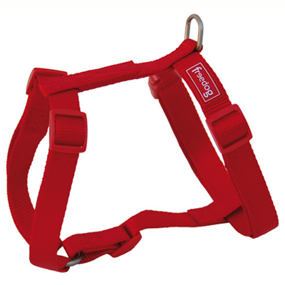 Freedog Harness Nylon Basic Red