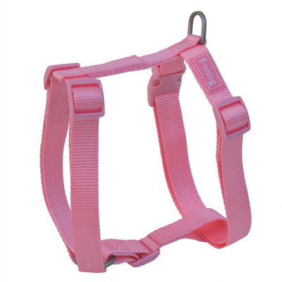 Freedog Harness Nylon Basic Pink