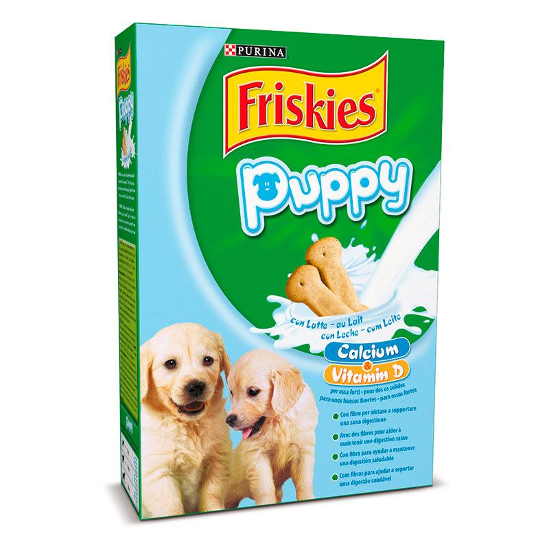Friskies Puppy Milk Biscuits for dogs