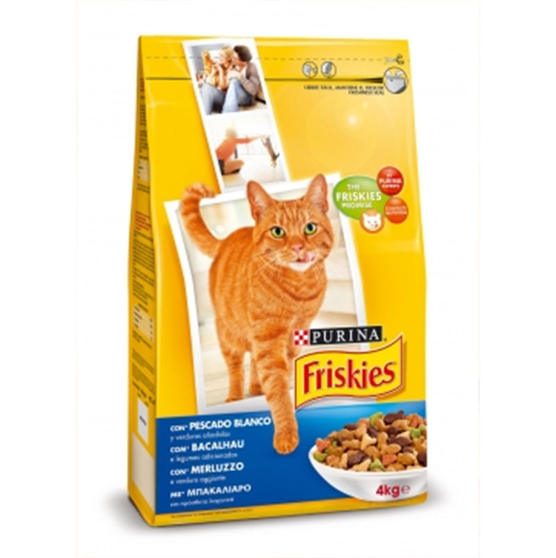 Friskies Adult Cat Cod and Vegetables