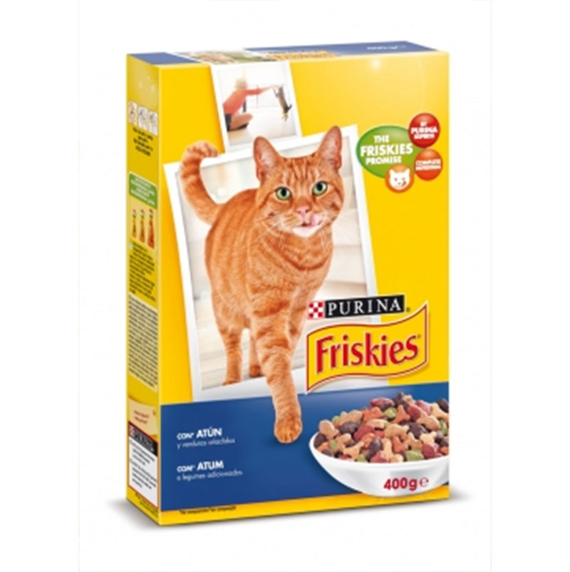 Friskies Cat Adult Tuna and Vegetables