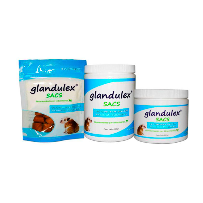 JT Pharma Glandulex Sacs. Supplement Anal Gland