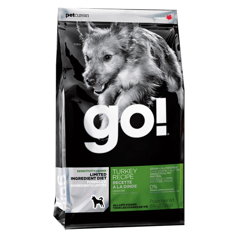 Go Dog Sensitivity+ Shine Limited Ingredient Pavo