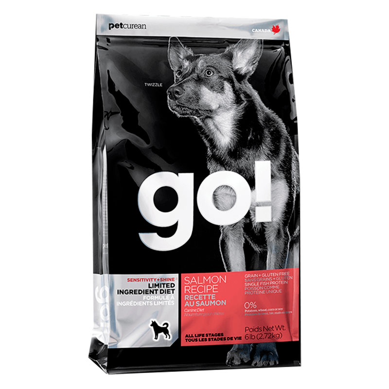 Petcurean Go! Dog Sensitivity+ Shine Limited Ingredient Salmon