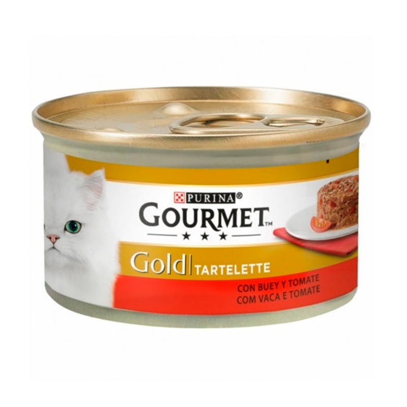Gourmet Gold Tartelette With Beef & Tomatoes