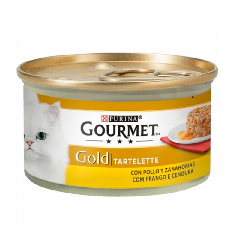 Gourmet Gold Tartelette With Chicken & Carrot
