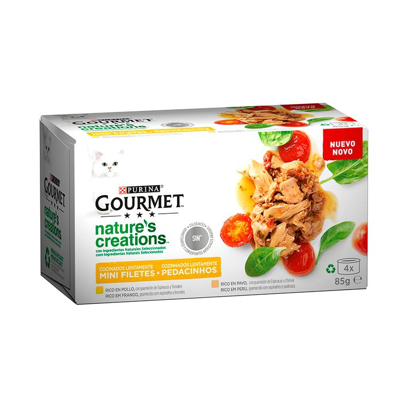 Gourmet Mini Fillets Rich in Chicken and Turkey 4x85g