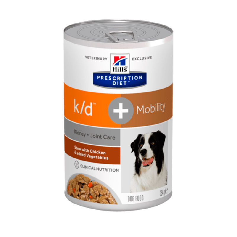 Hill\'s Canine k/d + Mobility Stew with Chicken & Vegetables