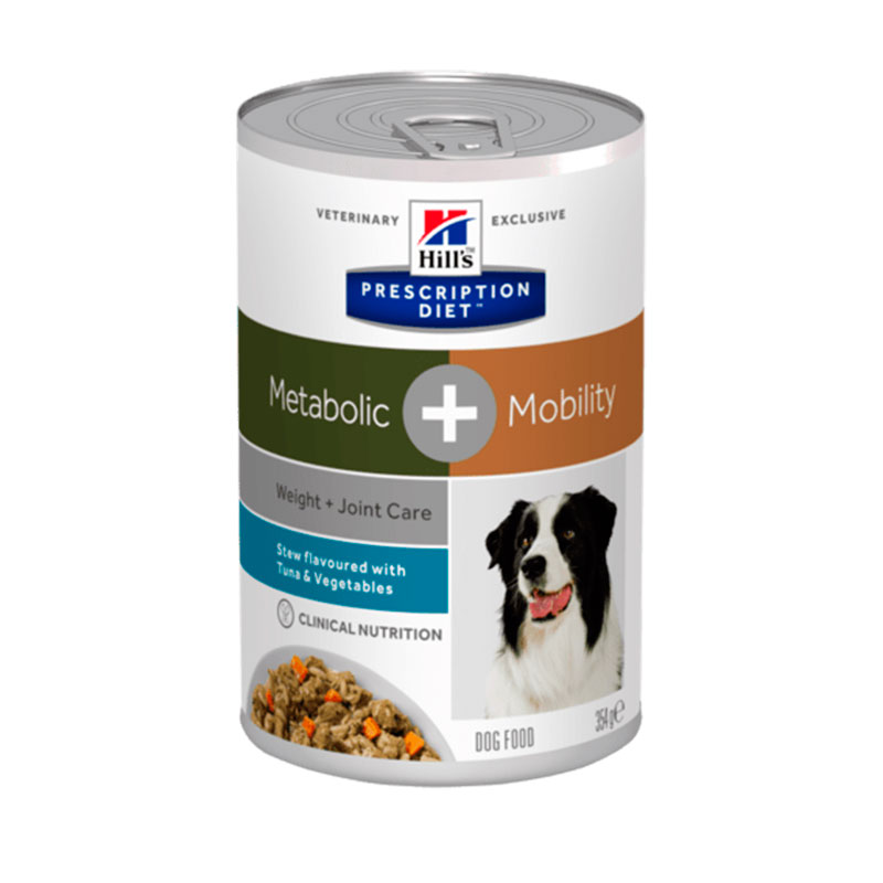Hill's Canine Metabolic Plus Mobility Stew with Tuna & Vegetables