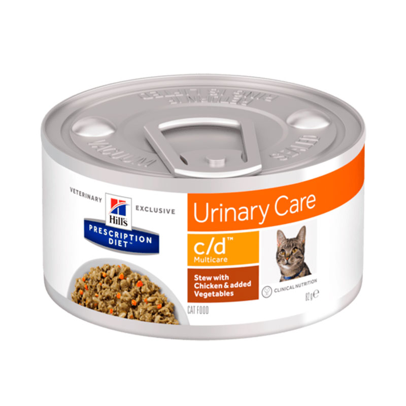 Hill's Feline c / d Multicare Stew with Chicken and Vegetables 82gr