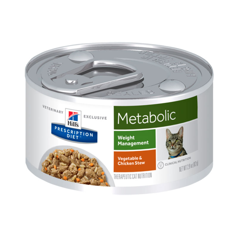 Hill's Feline Metabolic Stew with Chicken and Vegetables 82gr