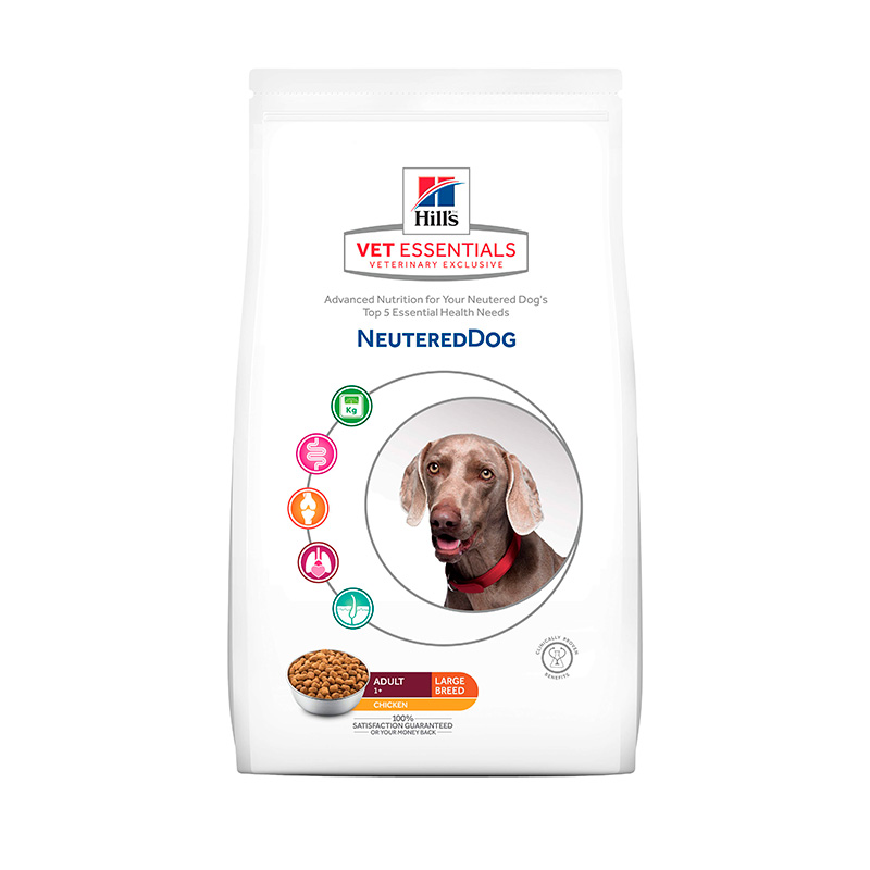 Hill's Vetessentials Neutered Dog Large Breed 12Kg