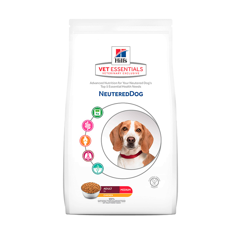 Hill's Vetessentials Neutered Dog Medium Breed