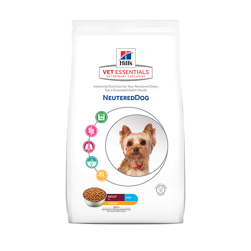 Hill's Vetessentials Neutered Dog Mini