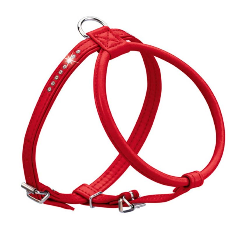 Hunter Harness Modern Art Round & Soft Petit Luxus Red