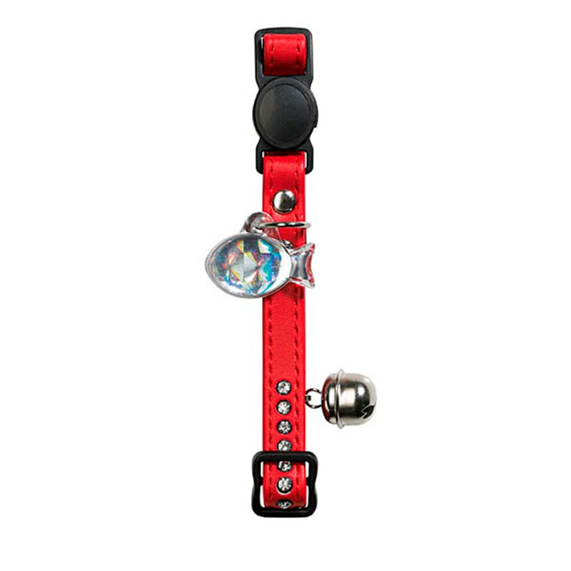 Hunter Cat Collar Modern Art Luxus Red