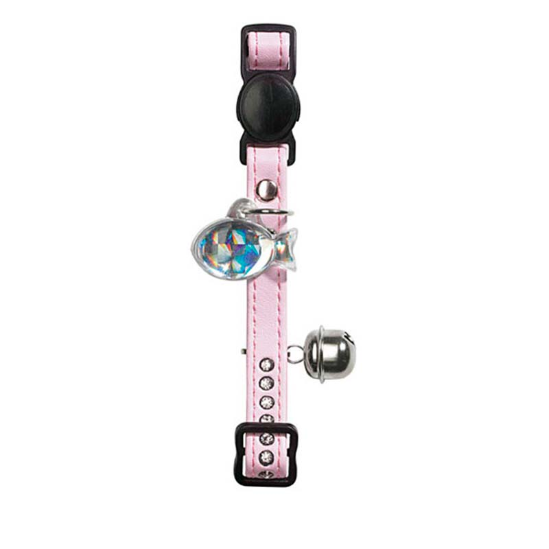 Hunter Cat Collar Modern Art Luxus Light Pink